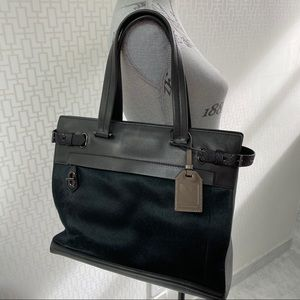 🛍 Vintage Reed Krakoff Calf Hair and Leather Tote